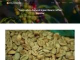 Top Arabica Natural Green Beans Coffee