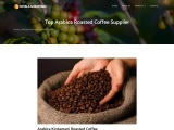 Top Arabica Roasted Coffee Beans Supplier