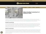 Elegant Quartz Countertops and Vanity Tops for Bathroom
