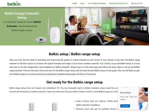 Easy steps for logging into Belkin extender