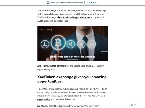 Best Bitcoin And Crypto Trading Site And Exchanges: Xceltoken Plus