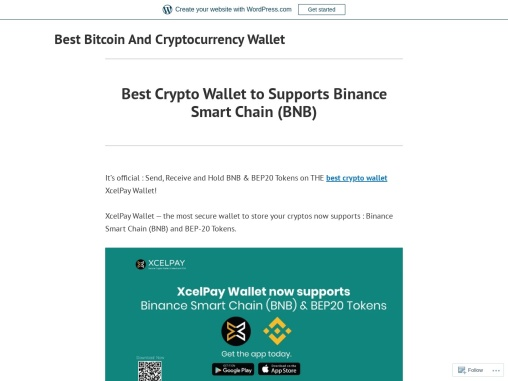 Best Crypto Wallet to Supports Binance Smart Chain (BNB)