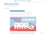Wisdom Teeth: All You Need to Know by Dentist in Brampton