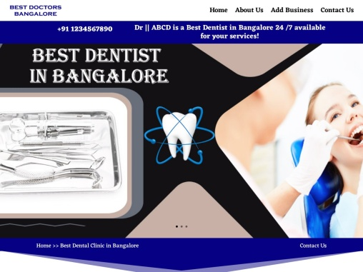 Best Dental Clinic in Bangalore | Dental Clinic in Bangalore