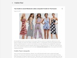 Wholesale Womens Playsuits Uk – Tips To Improve Your Sales In Wholesale Womens Playsuits Uk!