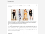 Wholesale Uk Clothing – Instructions For Retailers To Stock Ladies Legging!