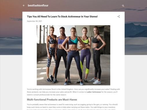 Wholesale Womens Activewear Uk | Instructions To Buy Wholesale Womens Activewear Uk!