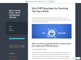 Outsource PHP development | Front end php developer