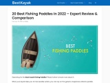 20 Best Fishing Paddles In 2021