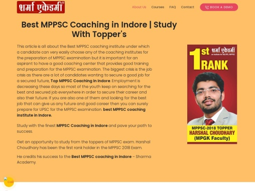 MPPSC Coaching institutes In Indore