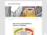 How to Use Latest WordPress Themes or Templates.