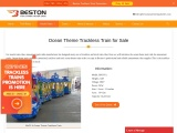 Ocean Theme Trackless Train Rides for Sale