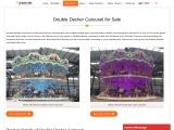 Double Decker Carousel for Sale