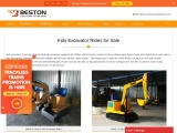 Kids Excavator Rides for Sale from beston