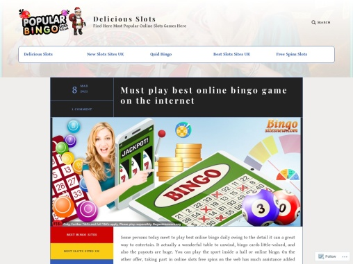 Must play best online bingo game on the internet