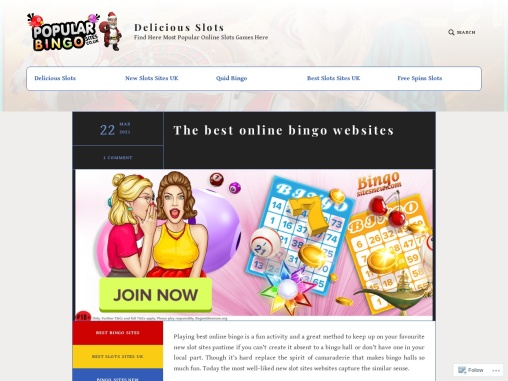The best online bingo websites
