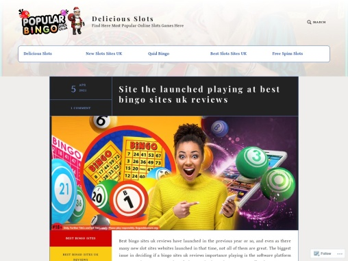 Site the launched playing at best bingo sites uk reviews
