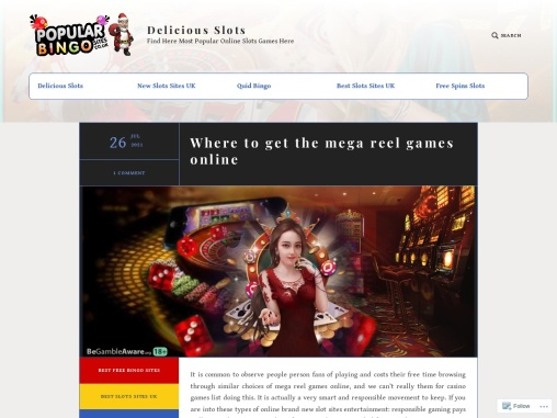 Where to get the mega reel games online