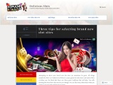 Three tips for selecting brand new slot sites