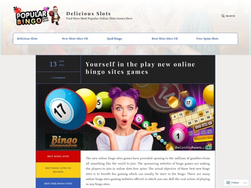 Yourself in the play new online bingo sites games