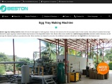 Paper Egg Tray Making Machine | 800-6500Pieces/H