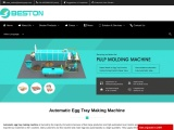 Automatic Egg Tray Makign Machine for Sale   Large-scale Profitable Business