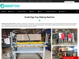 Small Egg Tray Makign Machine for Sale | Small Profitable Business