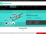 Pyrolysis Plant | Pyrolysis of Tyre, Oil Sludge, Plastic Quickly