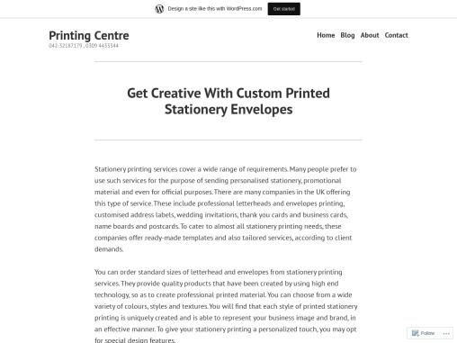Printing Mrket – Quality stationery printing Services Provider