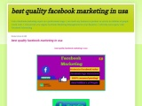 I will do facebook marketing for your business