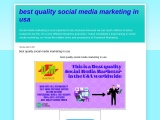 I will do promotion your business in usa by socialmediamarketing