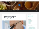 How to Buy Medical Safety Goggles?