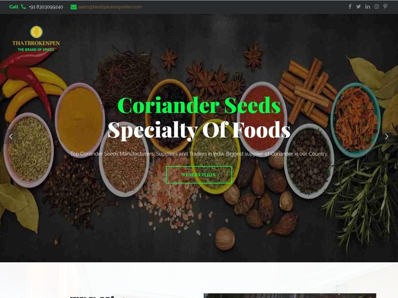 Top Organic Spice Manufacturer in India