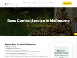 Bees Control Service In Melbourne