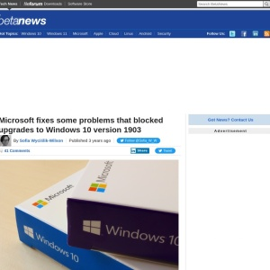 Microsoft fixes some problems that blocked upgrades to Windows 10 version 1903