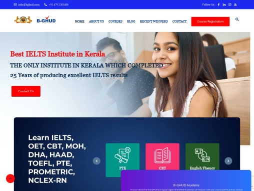 B-GHUD ACADEMY FOR IELTS ONLINE