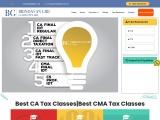 Best CA Tax Classes|Best CMA Tax Classes