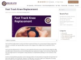 Fast Track Knee Replacement in Chennai