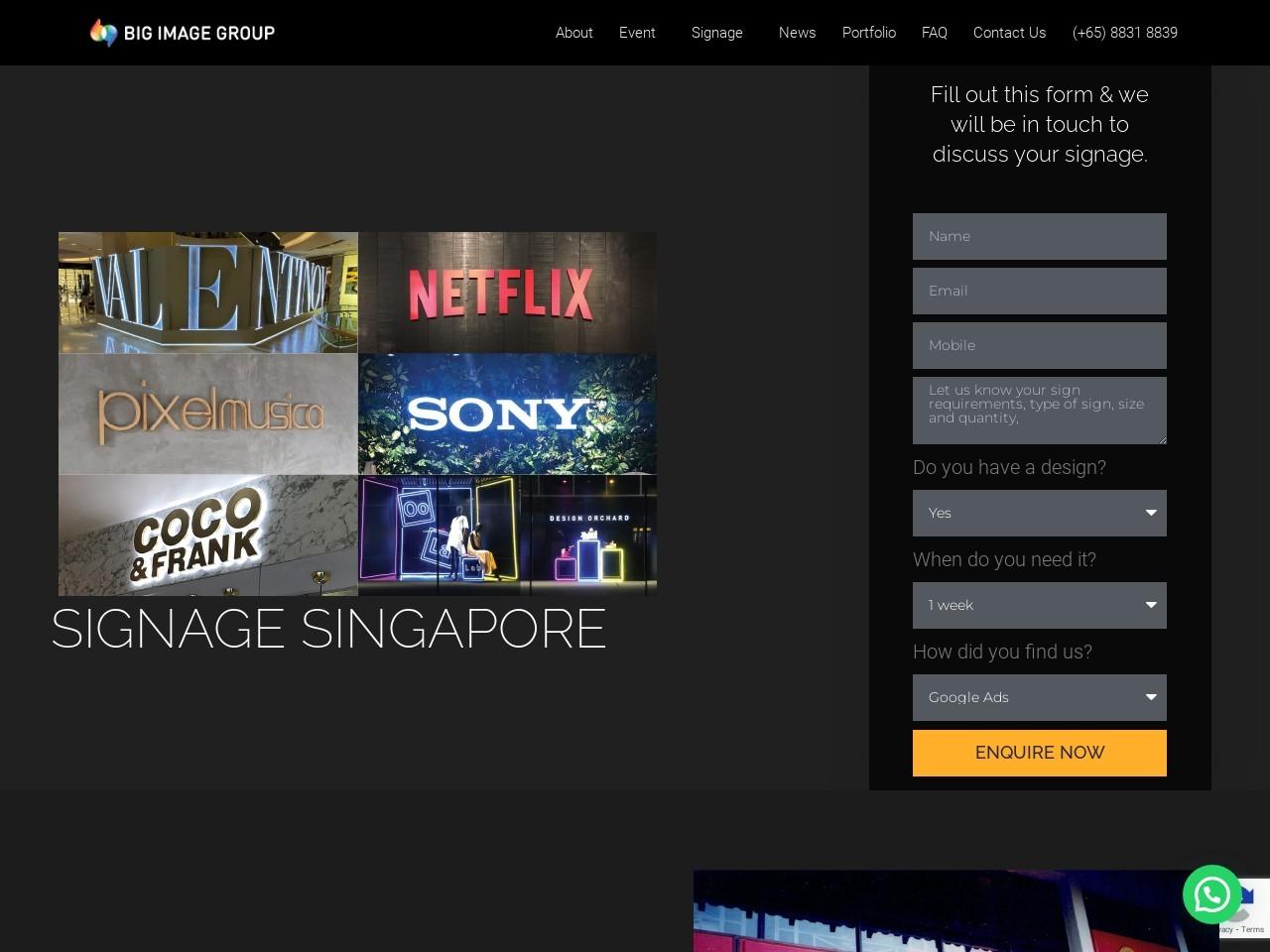 Custom Digital Signage Singapore