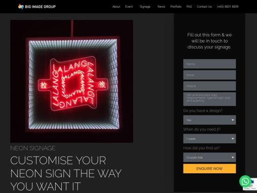Best Neon Signage Maker Singapore