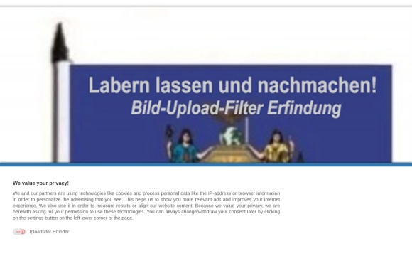 Bilduploadfilter-Erfinder von IT Dienstleistungen Schmitz