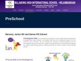 Best preschool in Chennai | Billabong High International
