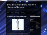 The best fashion house of bina pani store for the market