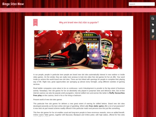 Why are brand new slot sites so popular?