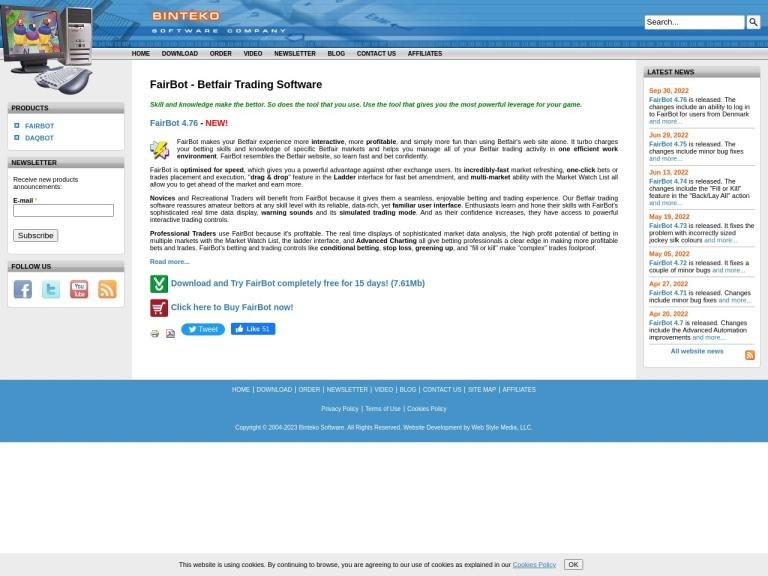 Binteko Software screenshot