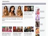 Biographia: Read Biography of your favorite celebrities