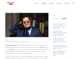 Johnny Depp Biography, All About Johnny Depp Personal Information