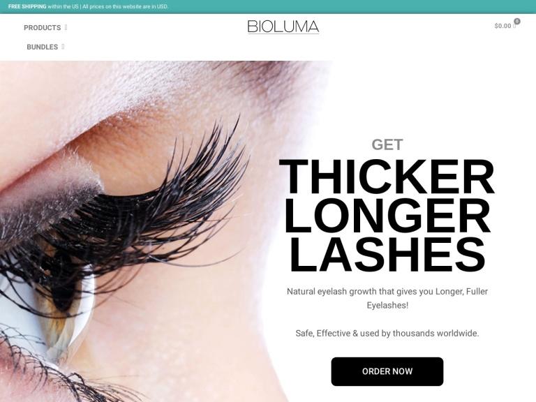 BIOLUMA screenshot