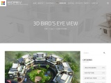 High Definition 3D Bird's Eye view for both Residential and Commercial Property.