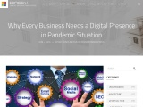 Digital Presence for Business – A Need in Pandemic Situation